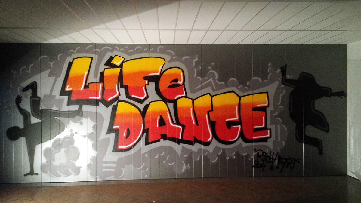 Muurschildering / Graffiti
